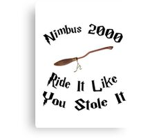 Harry Potter - Nimbus 2000 Canvas Print