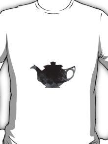 Teapot watercolor art print painting T-Shirt