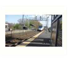 2011 Amtrak Acellar Art Print