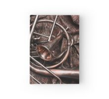 Assorted Brass Instruments Hardcover Journal