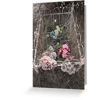Childs Grave Greeting Card