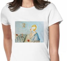 Party chess Womens Fitted T-Shirt