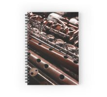 Mixed Woodwinds Spiral Notebook