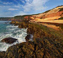 Middle Beach - Merimbula by Darren Stones