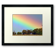 Where is my pot of gold? Framed Print