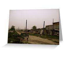 Cidade abandonada Greeting Card