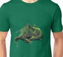Sleeping green dragon Unisex T-Shirt