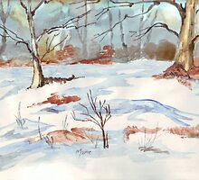 Winter's redeeming qualities by Maree  Clarkson