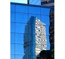 Urban Reflection Photographic Print