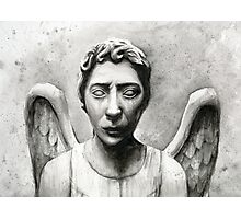 Weeping Angel - Don't Blink! Photographic Print