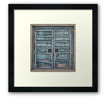 Lovely Patina Framed Print
