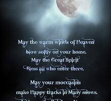 Native American Blessing by Tonye Banks