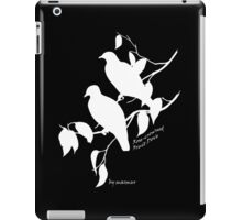White Rose-crowned fruit dove iPad Case/Skin