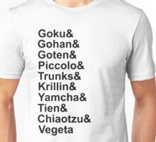 Z-fighters (Dragon Ball Z) Unisex T-Shirt