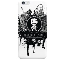 Share your creative design t-shirt iPhone Case/Skin