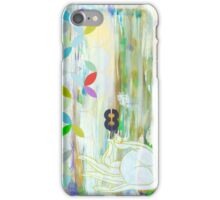 Prosperity inspirational art print iPhone Case/Skin