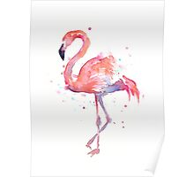 Flamingo Watercolor Poster