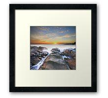 Coolum Sunrise Framed Print