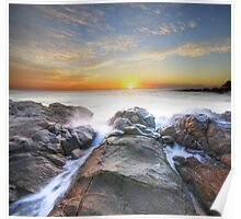 Coolum Sunrise Poster