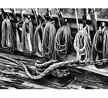 Rigging at the Ready Photographic Print