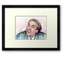 Nicolas Cage Meme You Don't Say Framed Print