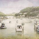 Looe moorings by Lissywitch