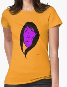 Mourning Girl (violet) Womens Fitted T-Shirt