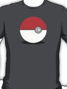 Simplistic Pokeball Design - Pokemon T-Shirt