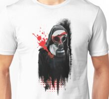 Dark Gas Mask Nun Unisex T-Shirt