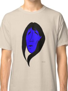 mourning girl(blue) Classic T-Shirt