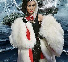 Cruella de Vil by Monica Alexandra Troie