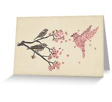 Blossom Bird  Greeting Card