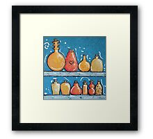 Lotions and Potions Framed Print