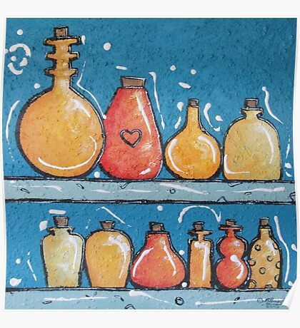 Lotions and Potions Poster