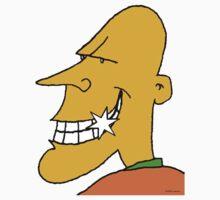 Happy Bald Man (no background) by Ashoka Chowta
