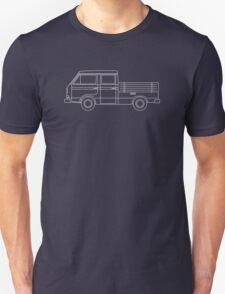 VW T3 Twin Cab Blueprint T-Shirt