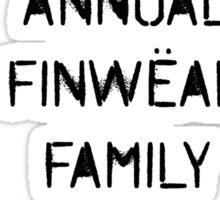 Family Reunions Sticker