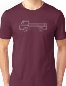 VW T3 Single Cab Blueprint Unisex T-Shirt