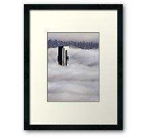 Shangri-La In The Fog Framed Print