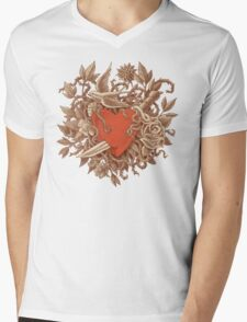 Heart of Thorns  Mens V-Neck T-Shirt