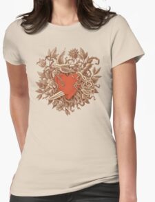 Heart of Thorns  Womens Fitted T-Shirt