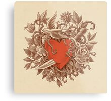 Heart of Thorns  Metal Print