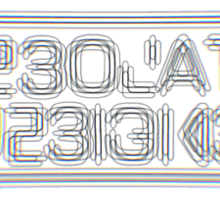 Desolate Designs logo Sticker