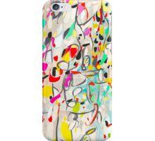 Secret Language of Prayers abstract pattern  iPhone Case/Skin