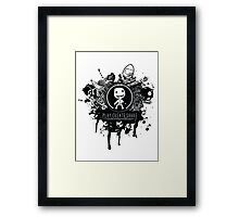 Share your creative design t-shirt Framed Print