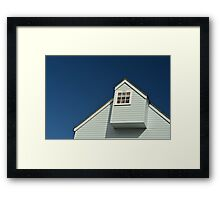 Overlooking The Harbour Framed Print