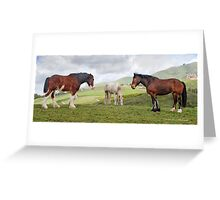 10 Paces Greeting Card