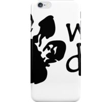 Wet Dog Foot Print Design T-Shirt iPhone Case/Skin