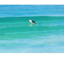 Facing the Wave Photographic Print