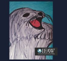 Save the Cute Seals - IFAW logo by Sarah Bentvelzen